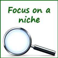 Picture - Focus on a niche