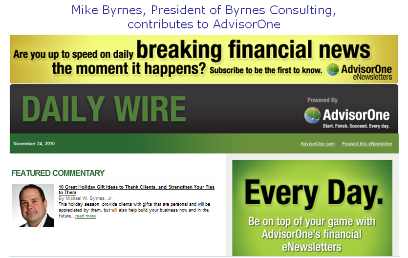 Ten great holiday gift ideas for clients byrnes for Great gift ideas for clients