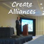 Create philanthropic alliances