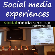 Picture - Social media experiences